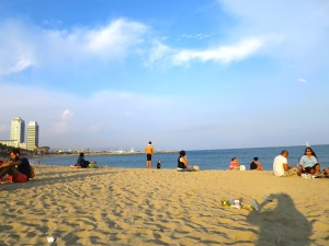Barcelona Beaching!