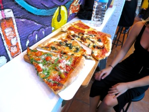 Giant Pizza from Pizza Circus