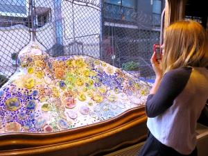 Mosaics at Casa Batlló