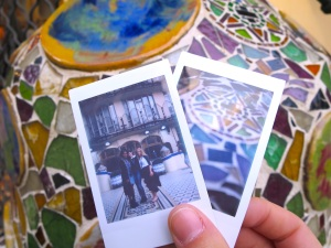 Polaroids and beautiful mosaics at Casa Batilló