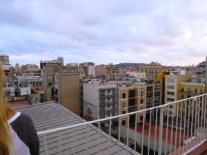 Rooftop view from Casa Batlló