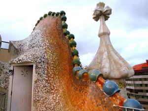 Casa Batlló's Rooftop