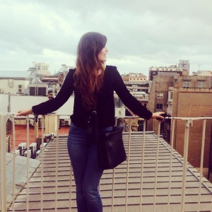 Me in the middle of Barcelona