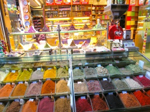 Spices and Turkish Delight in Istanbul