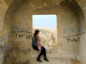 Ruins and Graffiti at Uchisar